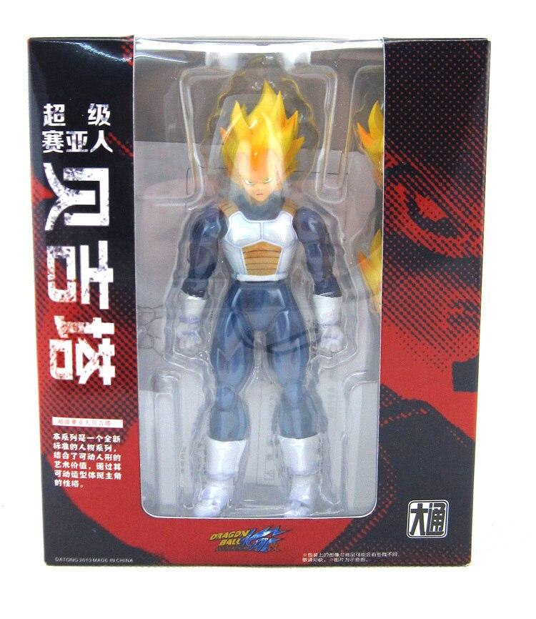 ФОТО Hot Datong Version Akira Toriyama Comic Anime Dragon Ball Z Kai Vegeta Super Saiyan Action 6