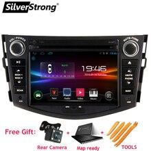 SilverStrong 2din Car AndroidCar DVD Player for Toyota Rav4 RAV 4 Audio Video Auto Stereo GPS Navigation Radio DAB+