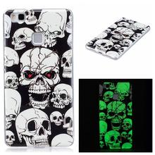 For Huawei P9 Lite TPU Case Noctilucent Soft TPU Back Cover for Huawei P9 Lite P9lite FREE SHIPPING