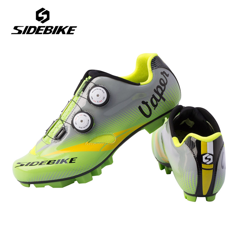 Sidebike New Men Professional Cycling Shoes Mountain MTB Bicycle Shoes Breathable Self-locking Bike Shoes Zapatos de ciclismo outdoor eyewear glasses bicycle cycling sunglasses mtb mountain bike ciclismo oculos de sol for men women 5 lenses