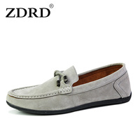 2015 Wholesale Men S Fashion Oxfords Casual Flat Loafers Male Lazy Boat Leather Shoes Men S