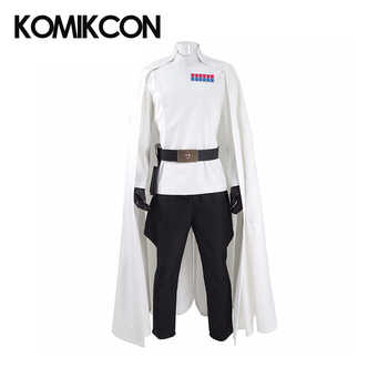 Rogue Director Orson Krennic Cosplay Costume Men's Cloak Suit Full Set Halloween Officer Uniform with Badge Gloves - DISCOUNT ITEM  5% OFF All Category