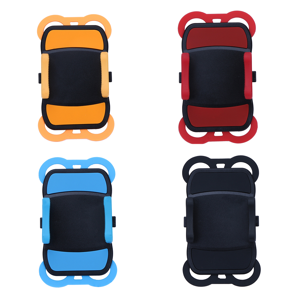 Bicycle <font><b>Phone</b></font> Holder Stands On Bike <font><b>Motorcycle</b></font> Rubber Bands <font><b>Mount</b></font> Holder for iPhone samsung Xiaomi and GPS Device