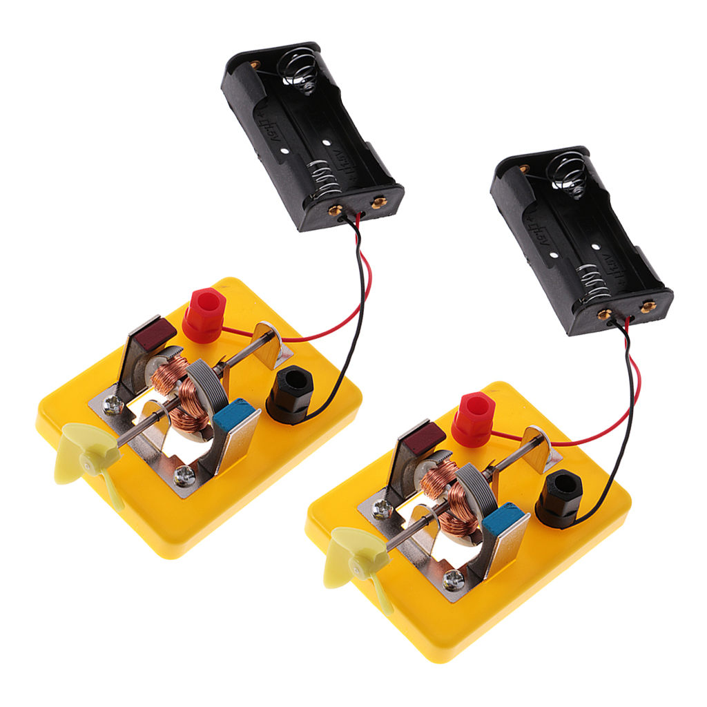 Circuit Kits For Kids Online Shopping Electronics Fashion Home 2pcs Diy Mini Motor Model Toy W Fan Educational Electrical