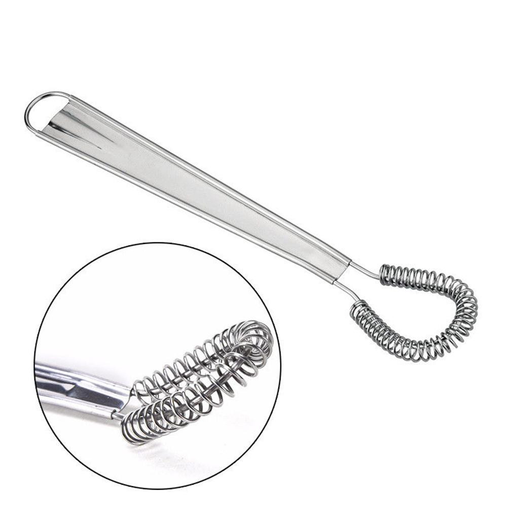 Mixing Tools Us 1 09 35 Off Whisk Hand Egg Beater Stainless Steel Miracle Cream Mixing Tool Kitchen Tools Stainless Steel Spring Hand Egg Beater 1d1 In Egg