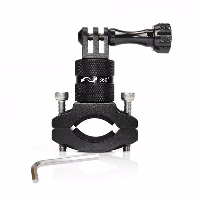 ONLENY Sport Action Camera Bike Bicycle Stand Cam Mount 360 Degree Rotation Aluminum