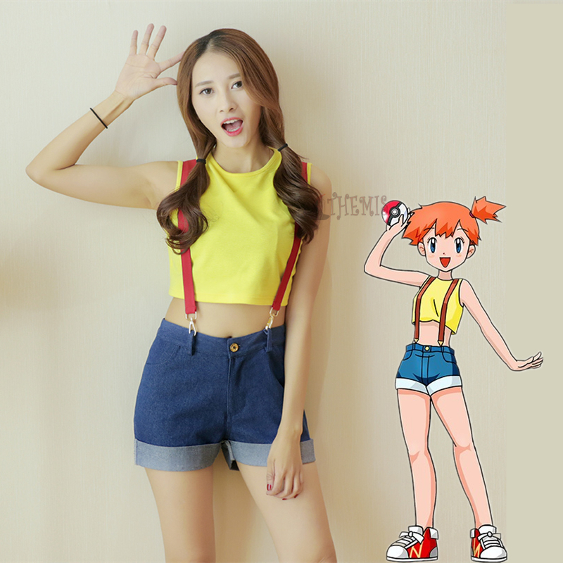 pokemon misty cosplay promotionshop for promotional