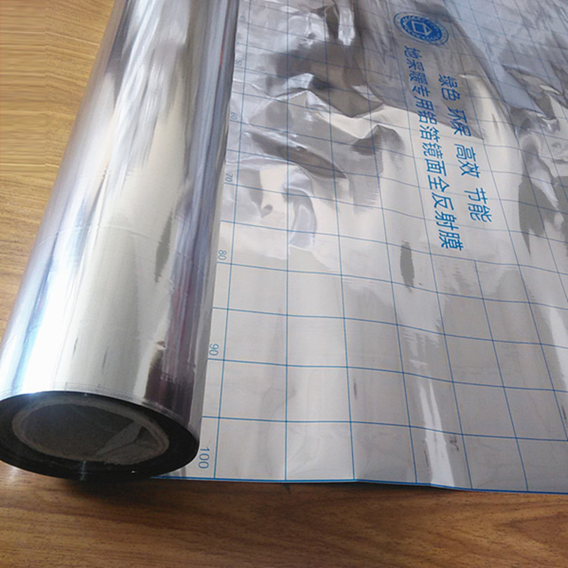 Image 2 - 100m2 Free ship Energy Saving Aluminum Foil Insulation Mirror Reflection Film for Electric Underfloor Heating SystemFloor Heating Systems & Parts   -