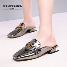 Solid Color Womens Summer Shoes Classic Fashionable Flat Slippers Fashion Casual