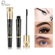 Pudaier Brand 4d volume mascara for eyelashes Black Thick long lash waterproof Makeup cosmetics Eyes Curling