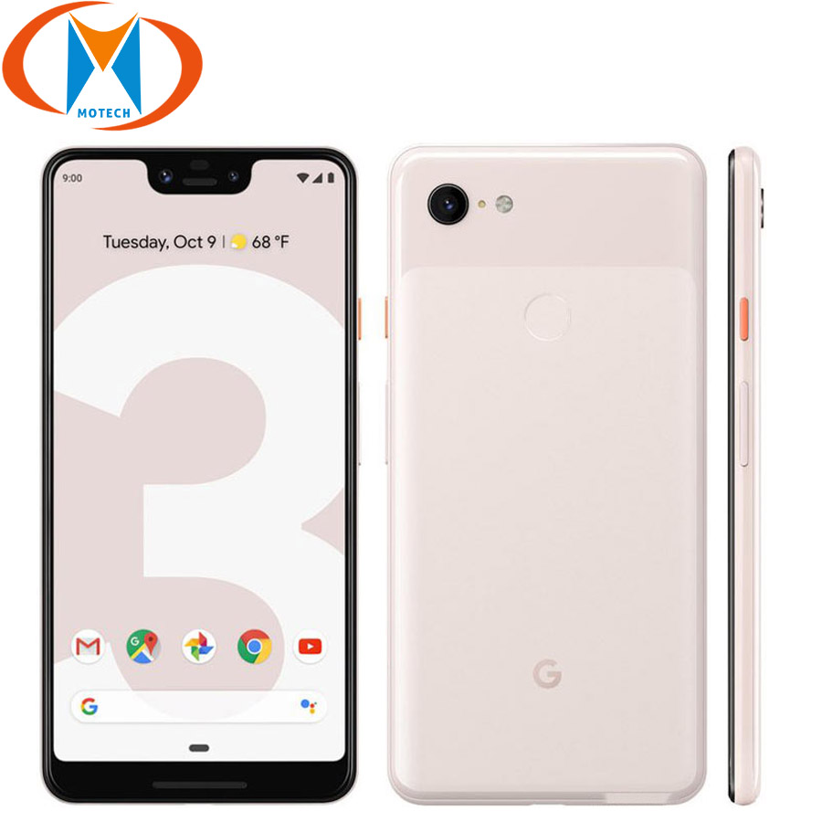 New Original Google Pixel 3 XL Mobile Phone 6.3 Snapdragon 845 4GB RAM 64GB 128GB ROM Android 9.0 NFC Fingerprint Smartphone image