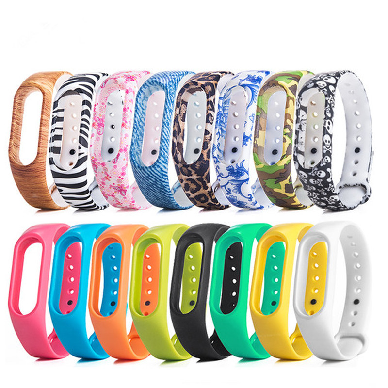 Bracelet Watchband-Accessories Wrist-Strap Mi-Band Xiaomi Silicone Multi-Color for Double-Replacement
