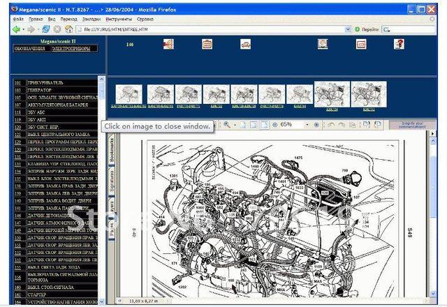 Renault Wiring Diagrams Megane Scenic X64 / J84 on Aliexpress