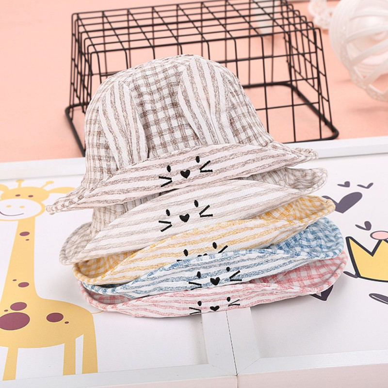 Baby Summer Outdoor Bucket Hat Children Floral Print Panama Cap Sun Beach Cap Lovely Princess Baby Girl Hats 2018 New 2017 fashion summer girls kids children cap princess rose flower decor straw beach sun wide brim hat