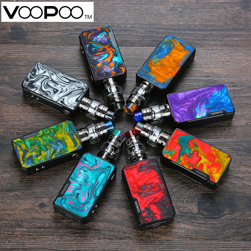 Voopoo Drag 2 177W TC Kit with 5ml 2ml Uforce T2 SubOhm Tank Powered By Dual