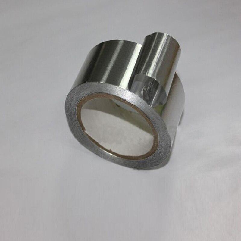 5CM*17M High Temperature Resistant Heat Insulation Sealing Fireproof Waterproof Aluminum Foil Tape Thermal Resist Duct Repairs