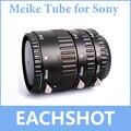 Майке MK-S-AF-Металл Автофокус AF Макрос Удлинитель Набор для Sony камера Alpha A58 A77 A65 A57 A55 A35 A700 A900 A300 A100
