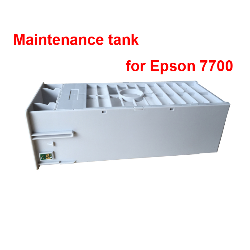 Good quality Maintenance tank for Epson stylus pro 7700 9700 7710 9710 Waste ink tank with compatible chips free shipping дрель шуруповерт аккумуляторный bosch psr 18 li 2 ergonomic 06039b0100