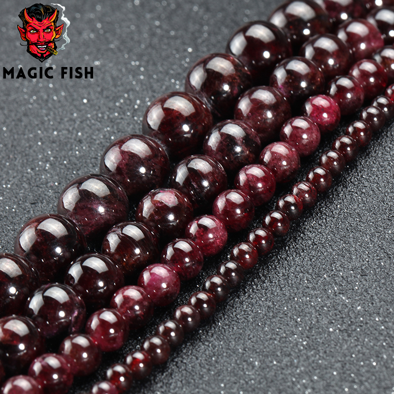 Beads & Jewelry Making Magic Fish Diy Ball Beads For Charms Bracelets Men&women Copper Blue Zircon Crystal Jewelry Acessorios Wholesale Pearl Kralen