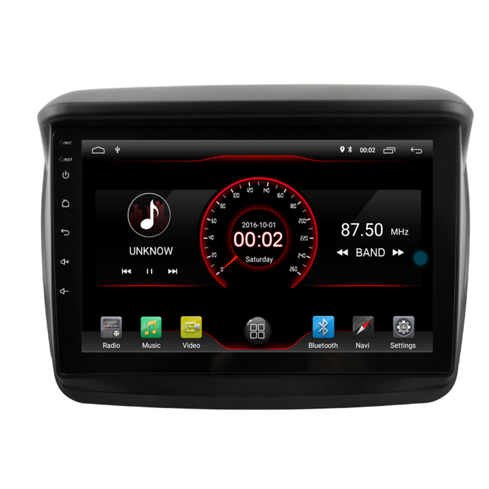 Multimedia Android 9.1 Car Audio FOR MITSUBISHI L200 Trion 2007 2014 Dvd Gps Player Navigation Head Unit Stereo DAB PC