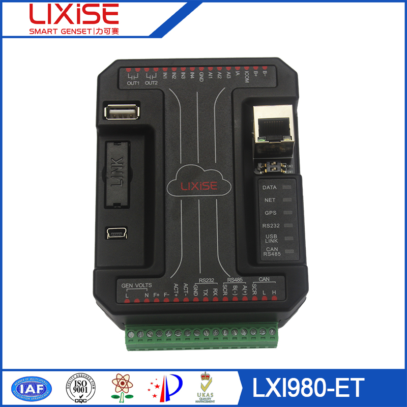 Lxi980-et Lixise Generator Rs485 Rs232 Gsm Gprs Modem