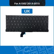 10pcs/lot Laptop A1502 UK Standard Keyboard for Macbook Pro Retina 13″ A1502 Replacement keyboard 2013 2014 2015 Year