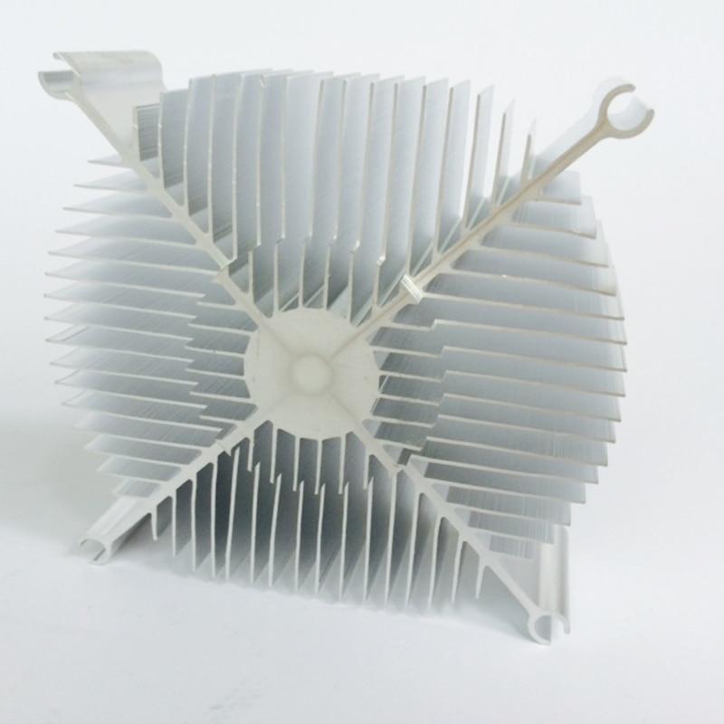 Disipador de calor LED Radiador Aluminio 86 * 78 * 30 mm Chip CPU GPU - Componentes informáticos - foto 3