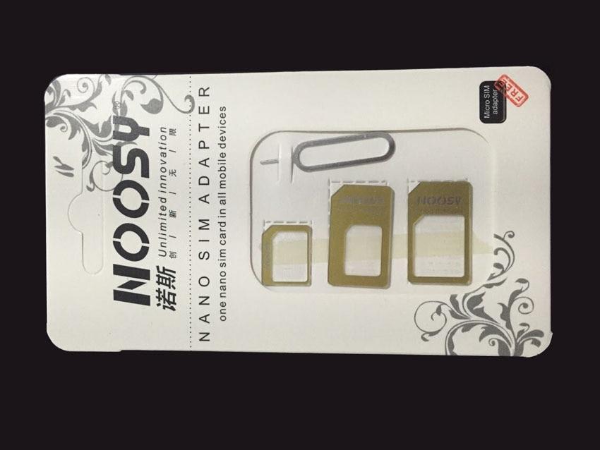 4 in 1 Nano Sim Card Adapters+Micro Sim+Stander Sim Card SIM Card&Tools For Xiaomi redmi note 2 3 prime Xiaomi Mi4 Mi4i Mi4C Mi5