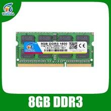 VEINEDA ddr 3 8GB 4GB ddr3 notebook 1600Mhz For Intel AMD laptop Ram Sodimm ddr3 1600 204pin