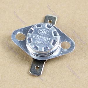 KSD301 105-Degree 250V Controlled-Switch Normal Nc-Temperature Dropship Centigrade Close