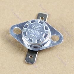 KSD301 105 градусов по Цельсию Нормально закрытый NC терморегулируемый выключатель Термостат 250 V 10A