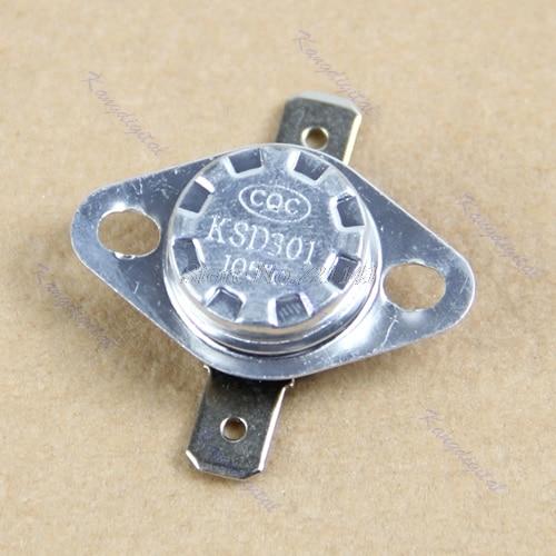 KSD301 105 Degree Centigrade Normal Close NC Temperature Controlled Switch Thermostat 250V 10A Dropship