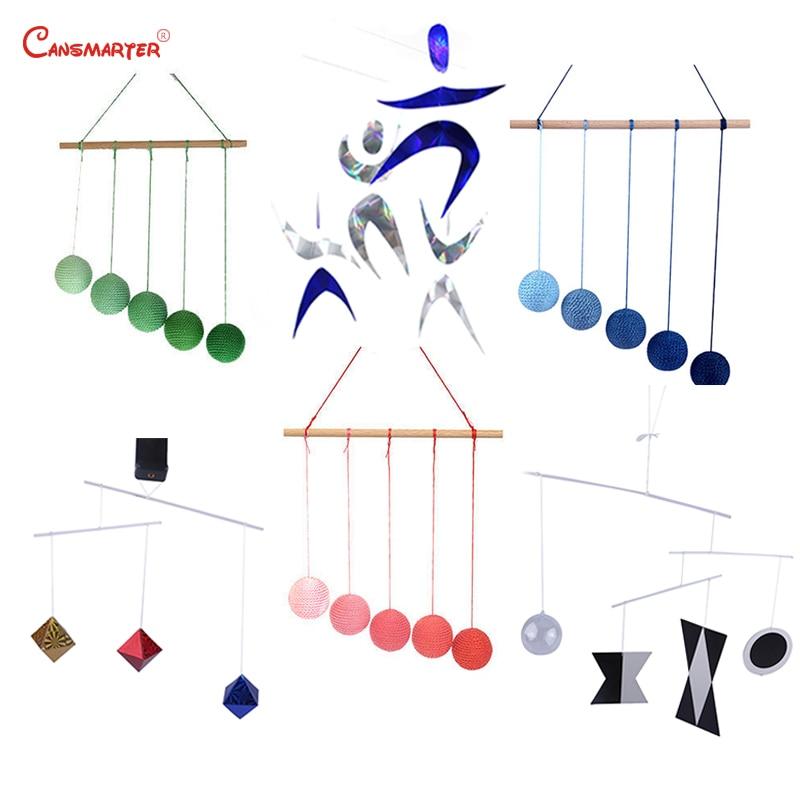 Conjuntos de cores visuais 6 peças infantil sensorial montessori exercício recém nascido educacional diy gobbi dançarino munari brinquedo móvel lt103 on CAN SMARTER Official Store