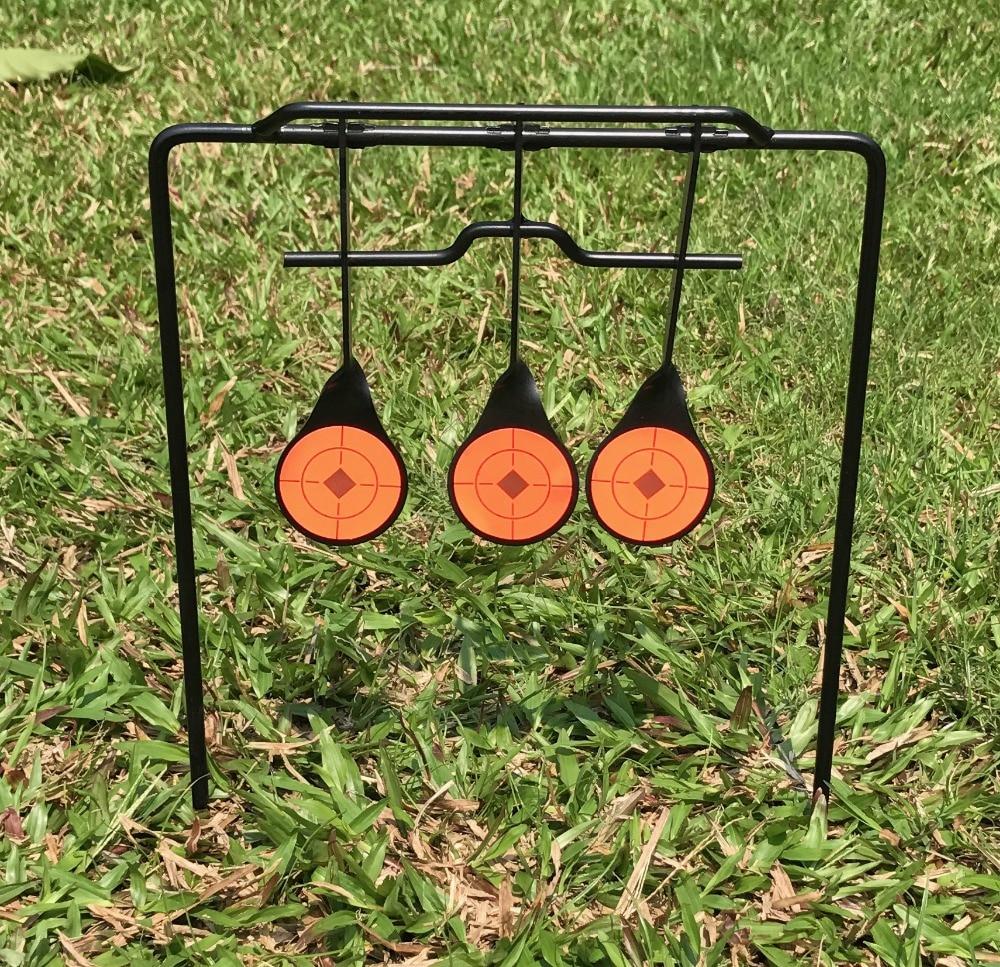 Spinner Shooting Steel Target. Up Flip