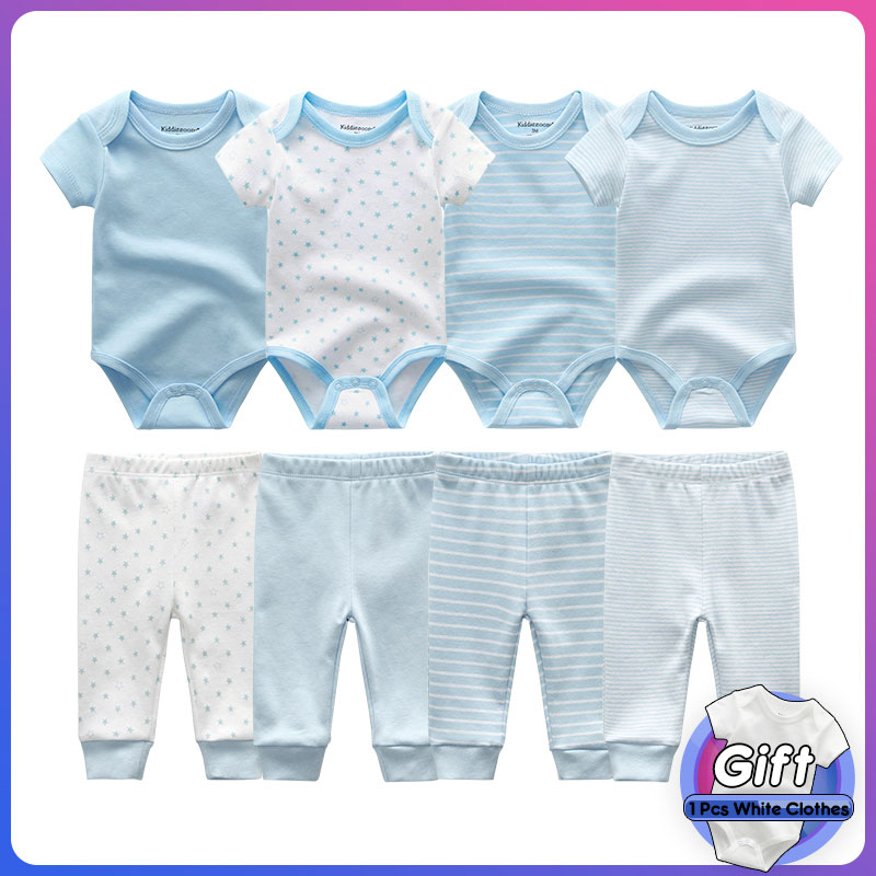 newborn baby clothes boy girl bodysuits and pants outfits toddler baby clothing infant rompers sets roupas de bebe