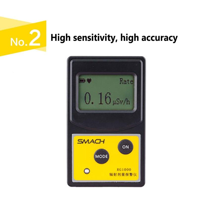 Radiação Nuclear Detector Radioativo GM Contador Geiger Gamma Beta X Tubo-ray Dosímetro Pessoal USB Analisador De Dados com o PC