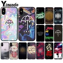 b0276814025 Yinuoda Bring Me the Horizon Dust Proof Phone Shell for iPhone X XS MAX 6 6s