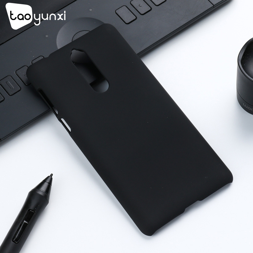 TAOYUNXI עבור Nokia 8 מקרה פלסטיק רגיל עסקים שחור כיסוי עבור Nokia 5 מקרה Nokia3 טלפון מעטה שמן מצופה Coques funda שקיות