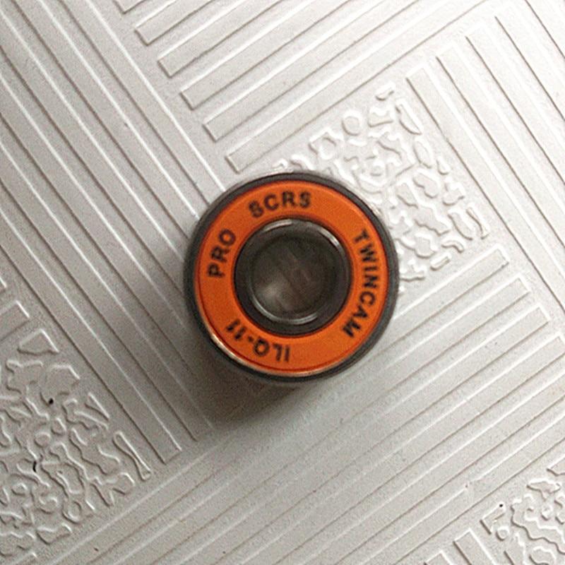 608 2RS ABEC-11  (8PCS)  8X22X7MM  Skateboard Ball Bearing 608RS EMQ Z3V3 for hand Spinner bearing free shipping 608rs 608 2rs 608 bearing abec 9 8 22 7 mm 8x22x7 mm skateboard ball bearings emq z3v3 608 2rs 608rs bearing