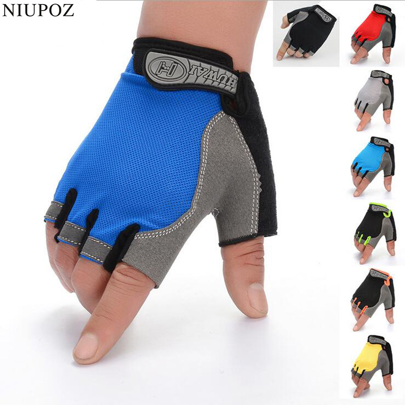 Anti-skid Half Finger Breathable Weightlifting Fitness Dumbbell Gym Gloves Fishing Outdoor Sports Climbing For Men & Women G111