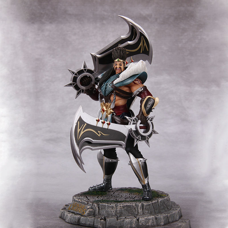 Game Anime Character Draven the Glorious Executioner Hero Action Game Model Decoration Action Figure Kids Toys