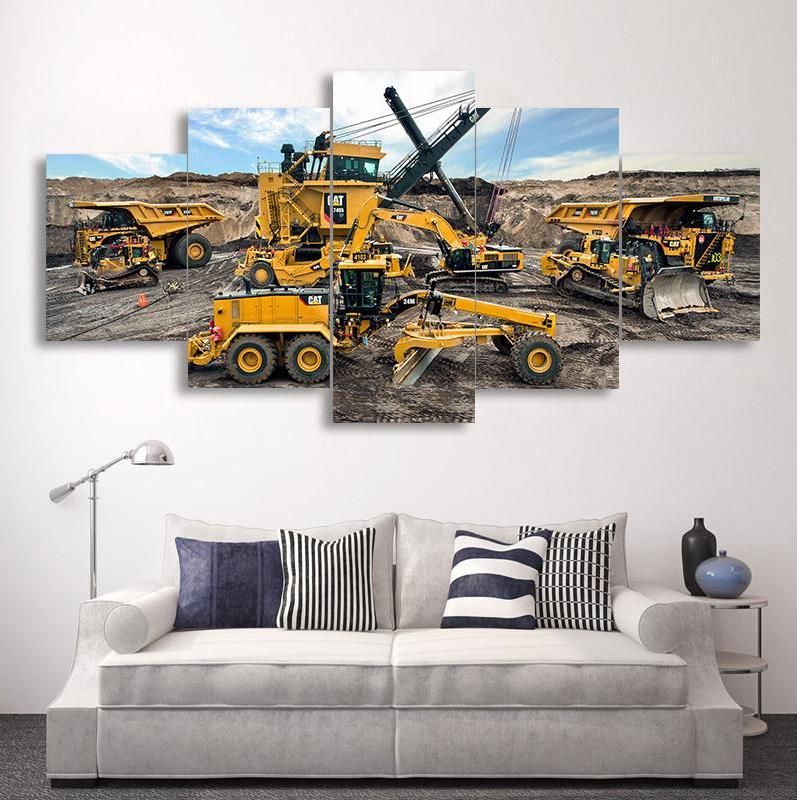 Full square 5d diy diamond painting engineering vehicle Excavator rhinestone 3D diamond embroidery mosaic needlework art 5 pieceFull square 5d diy diamond painting engineering vehicle Excavator rhinestone 3D diamond embroidery mosaic needlework art 5 piece