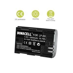 Image 5 - Batería de LP E6 + Cargador de Batería Dual para Canon EOS 80D, 6D, 7D, 70D, 60D, 5D Mark III, 5D Mark II, BG E14, BG E11, BG E9