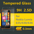 for Nokia Lumia 630/5/6/8 Ultra Thin 0.3mm Transparency Tempered Glass Film Screen Protector Explosion-proof Safety Anti-burst