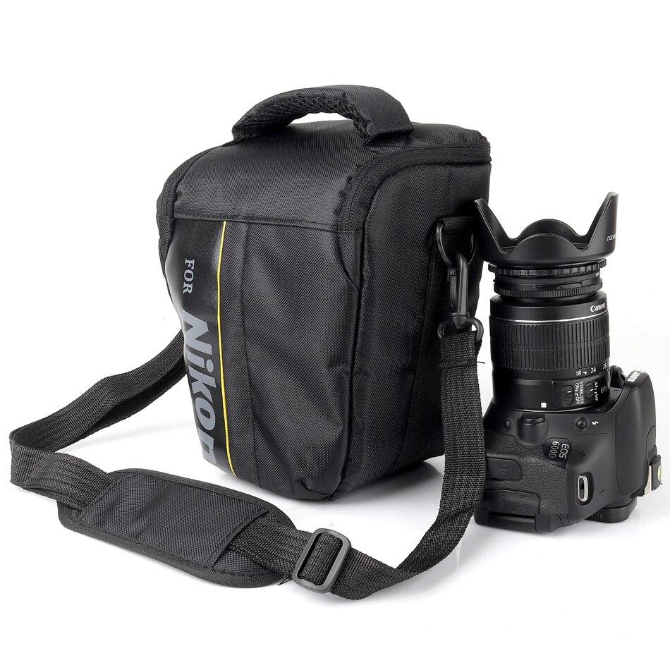 lowest price Waterproof DSLR Camera Bag Case For Nikon D3400 D5300 D7200 D7100 D7000 D5600 D5500 D5200 D5100 D3300 D3200 D3100 D3000 D810 D80