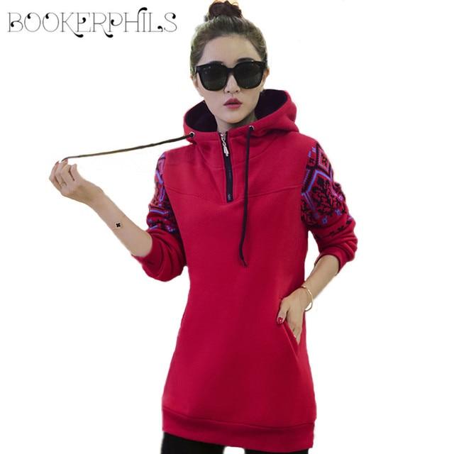 2019 Autumn Winter Women's Tracksuits Hoodie Thicken Plus Velvet Long Sleeve Women's Sweatshirt Plus Size Hoodies For Women