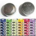 10 Unids/set de AG1 Baterías AG13 1.5 V Pilas Alcalinas Botón Moneda de Células 10 Tipos 7A12