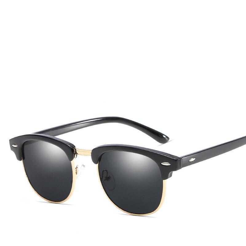High Quality Polarized Sunglasses Women Men Brand Designer Retro Night Vision Female Sun Glasses For Women Lady Sunglass Mirror