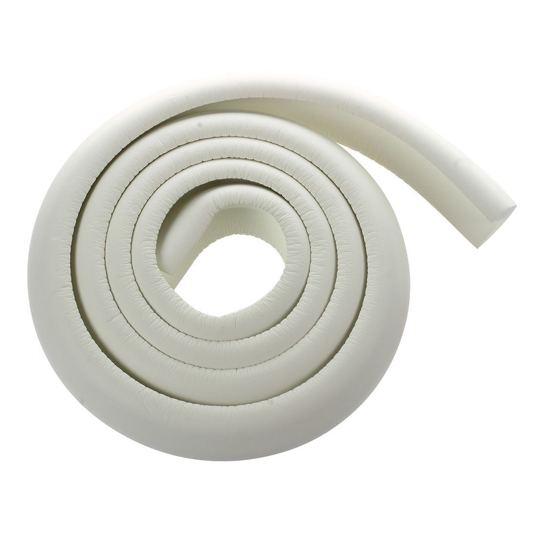 Childproof Edge Corner Guard Cushion Length 2M Included 3M Adhesive (White)