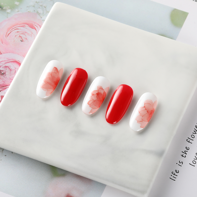 ROSALIND Blossom Nail Gel Polish 12ML Semi Permanent UV Lamp Gel Lacquer Design Of Nails Art Manicure Halo dyeing Blooming Gel 3